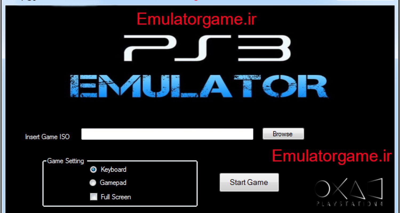 دانلود شبیه ساز Emulator PS3 برای کامپیوتر 2016 [جدید]